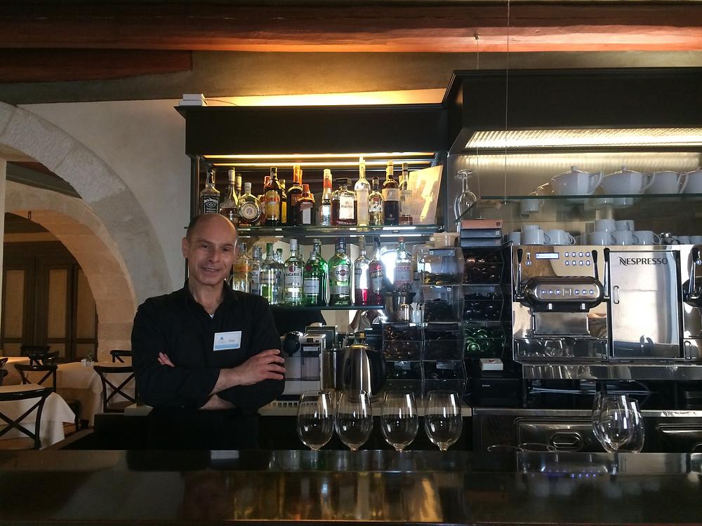 Hotel Algila Restaurant & Bar - Enzo one of the longest serving staff members