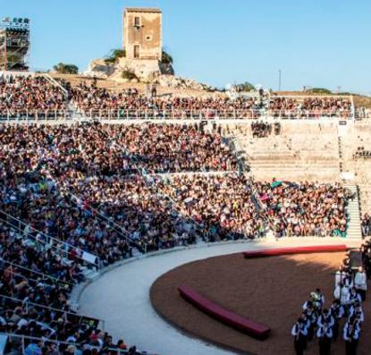 STAGIONE 2021 AL TEATRO GRECO di Siracusa, Sicilia