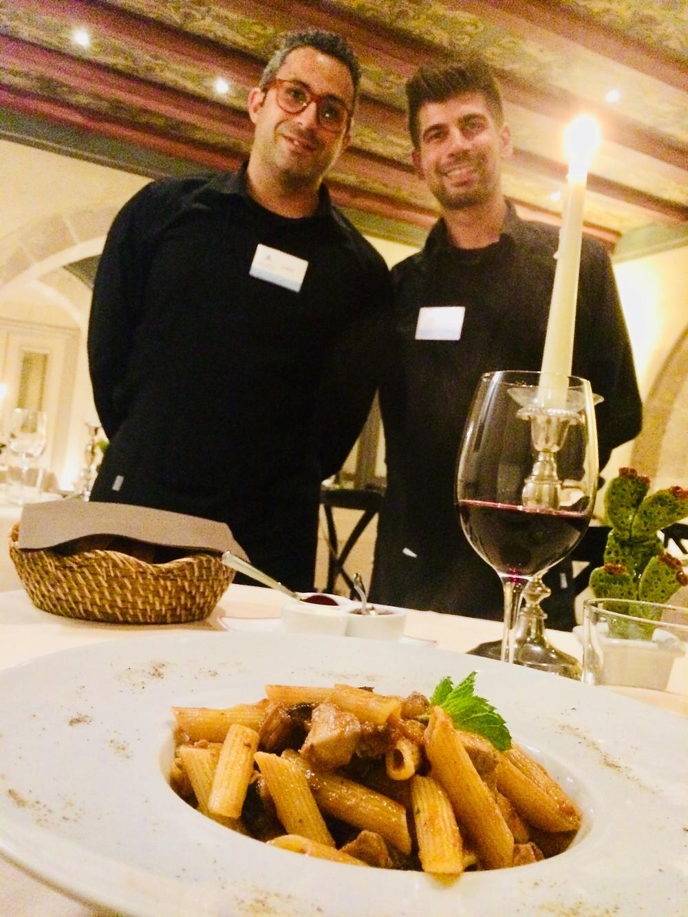 Hotel Algila Restaurant - Waiting Staff Luca & Ivan