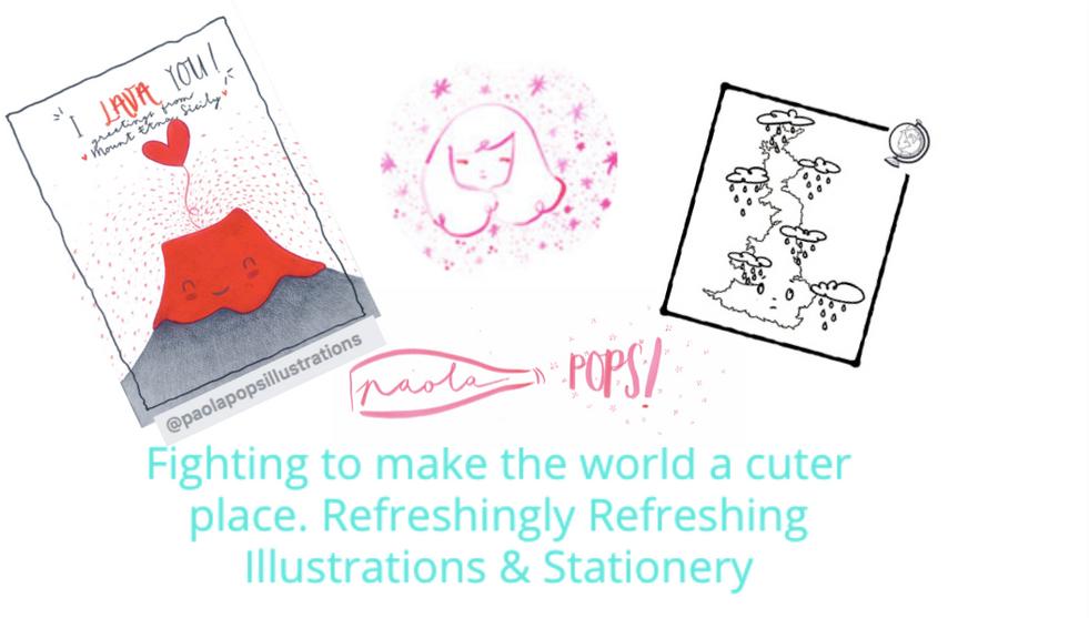 PaolaPops Stationery & Illustrations