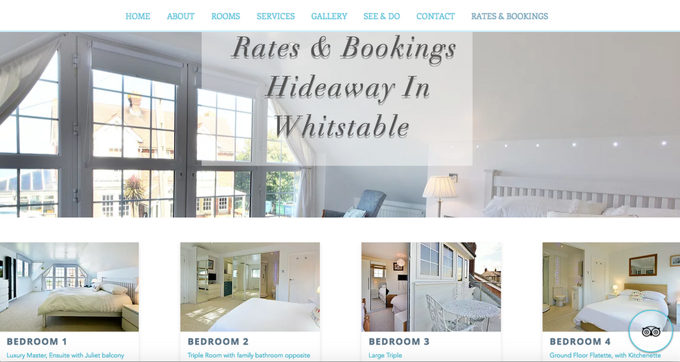 Hideaway In Whitstable Holiday Rental Accommodation, UK