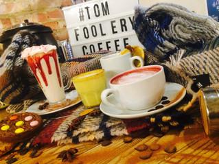 Tom Foolery Winter Warmer Drinks Photoshoot & Social Media