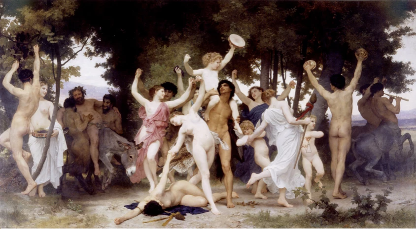 Greek Tragedy - Le Baccanti by Euripides - Composed in 407 - 406 BC