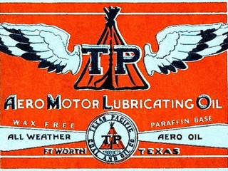 Texas Pacific Hangar Sign