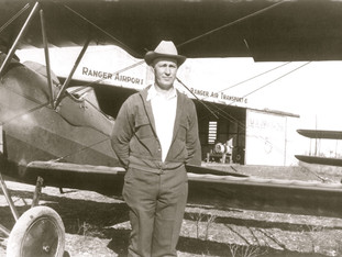 Ray Farrer with Travel Air