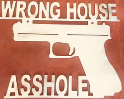 Wrong House Pistol