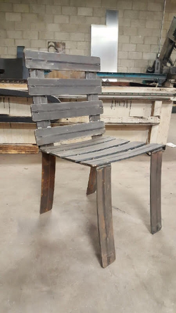 Steel Patio Chair