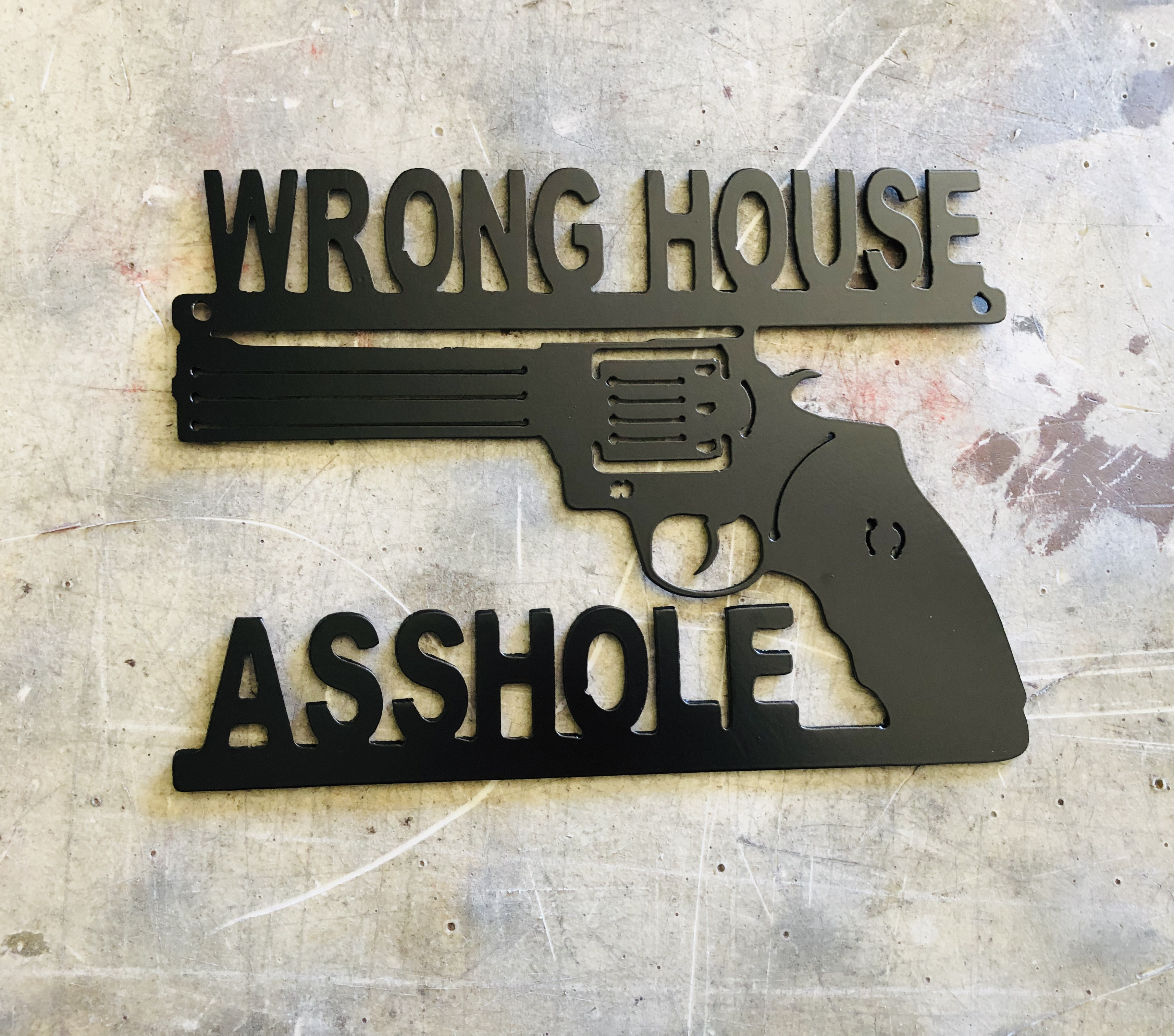 Wrong House Revolver