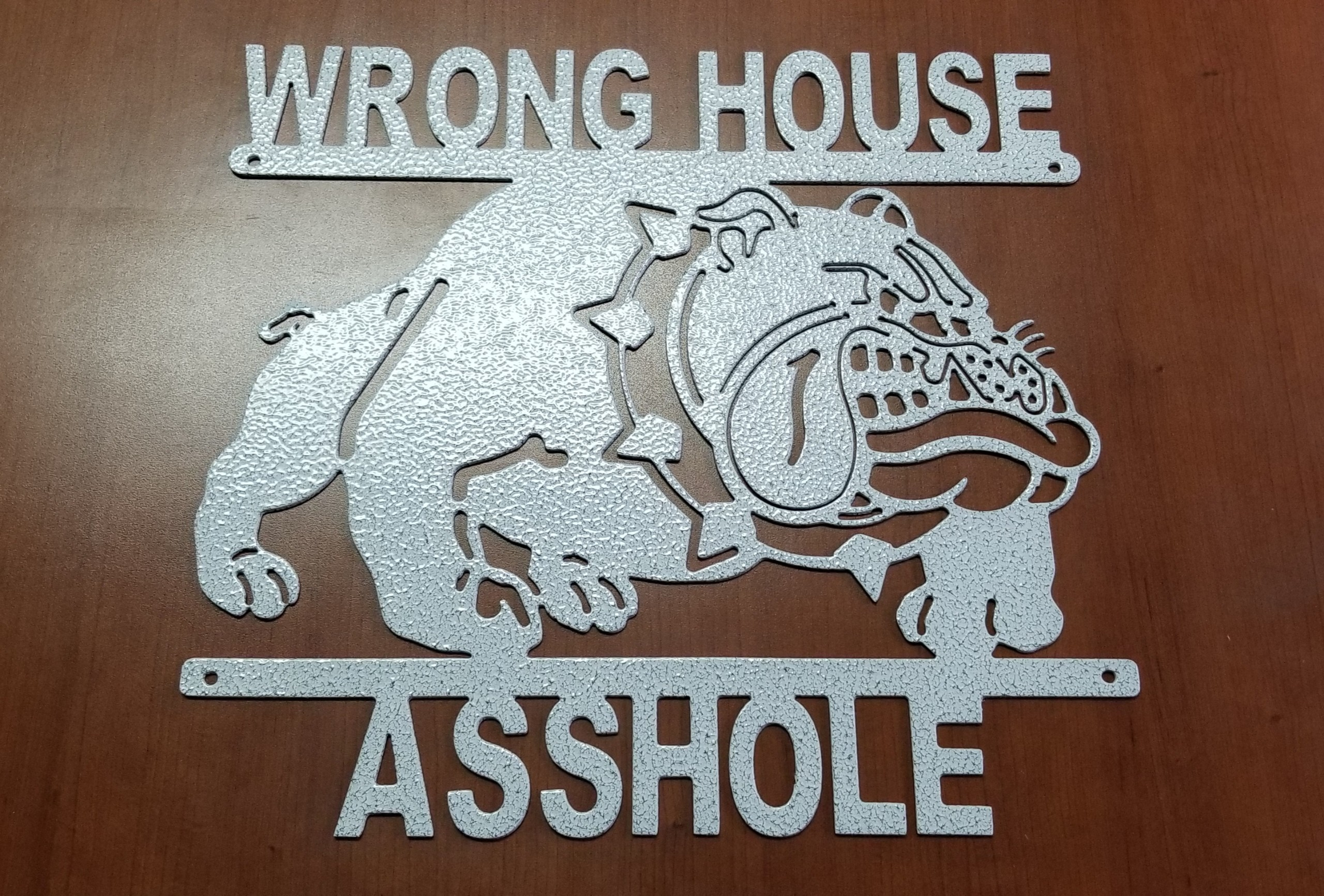 Wrong House Bulldog