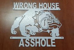Wrong House Bulldog