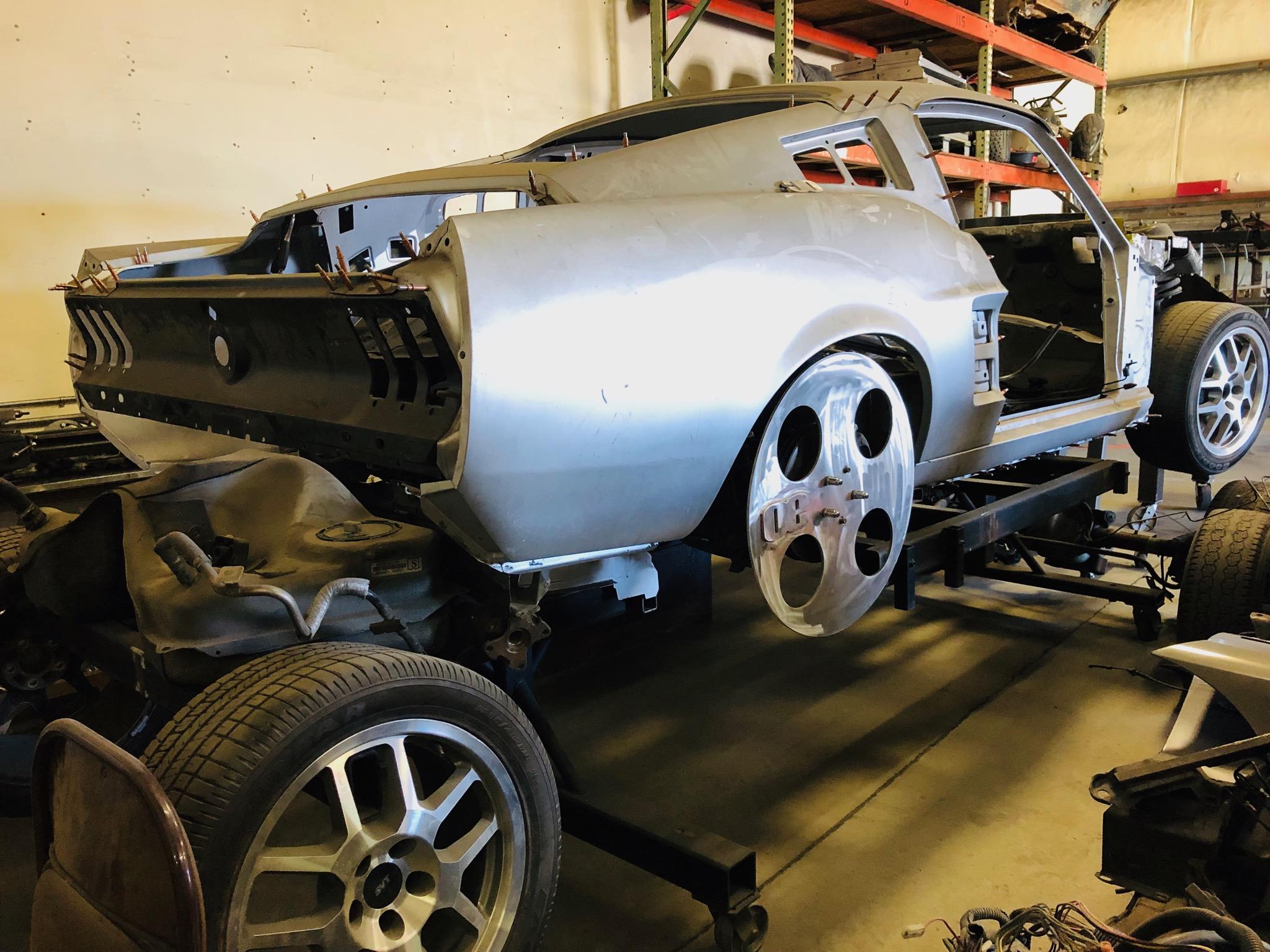 68 Mustang Build