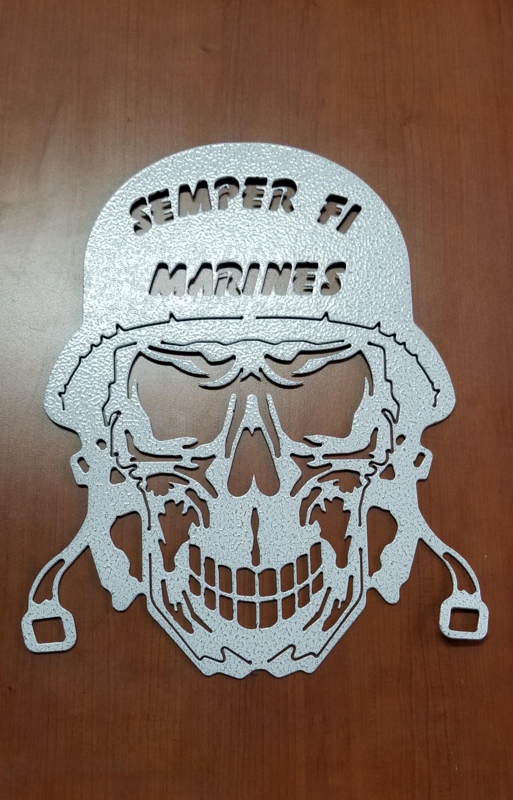 Semper Fi Skull