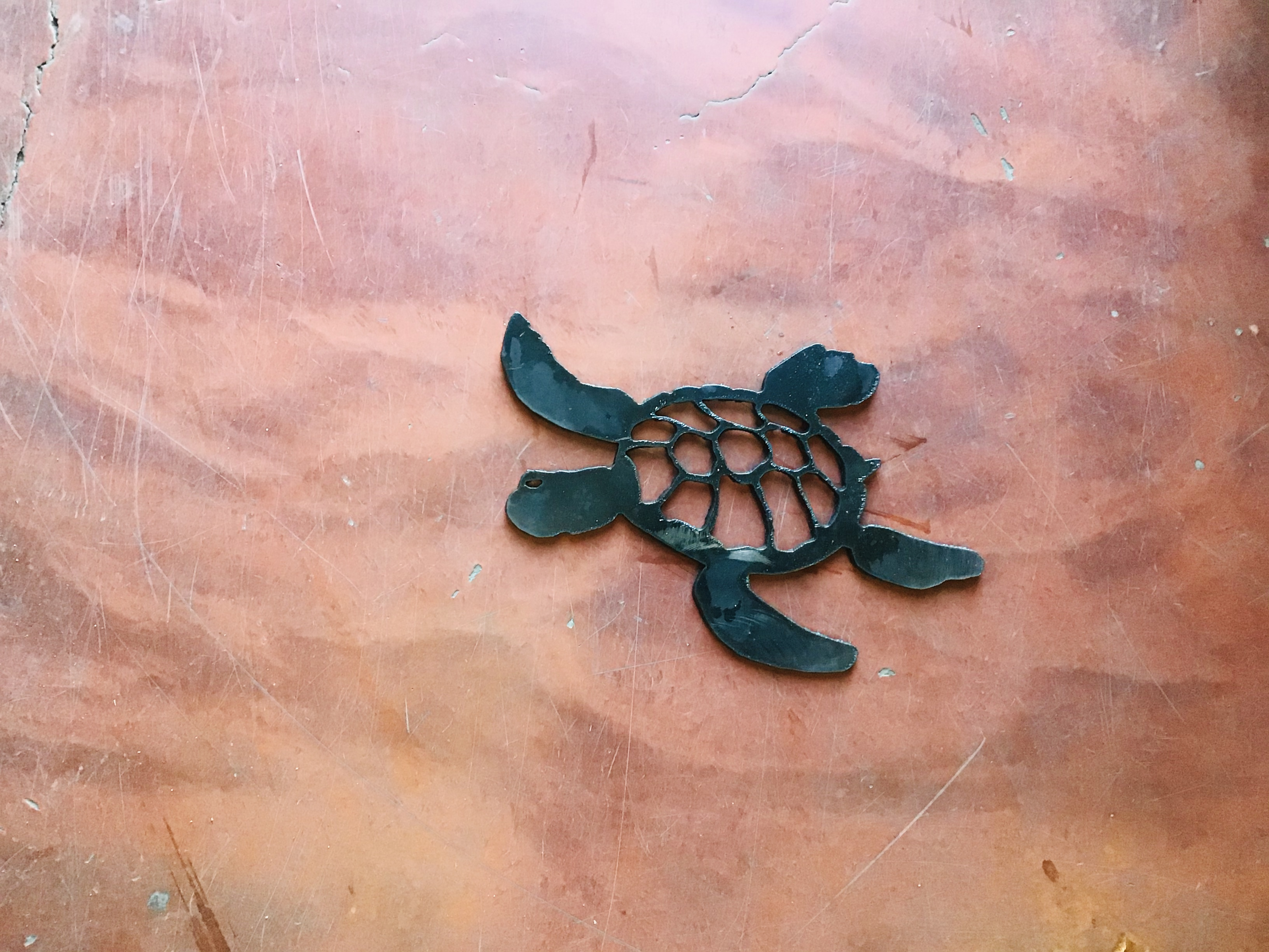 Turtle Plaque