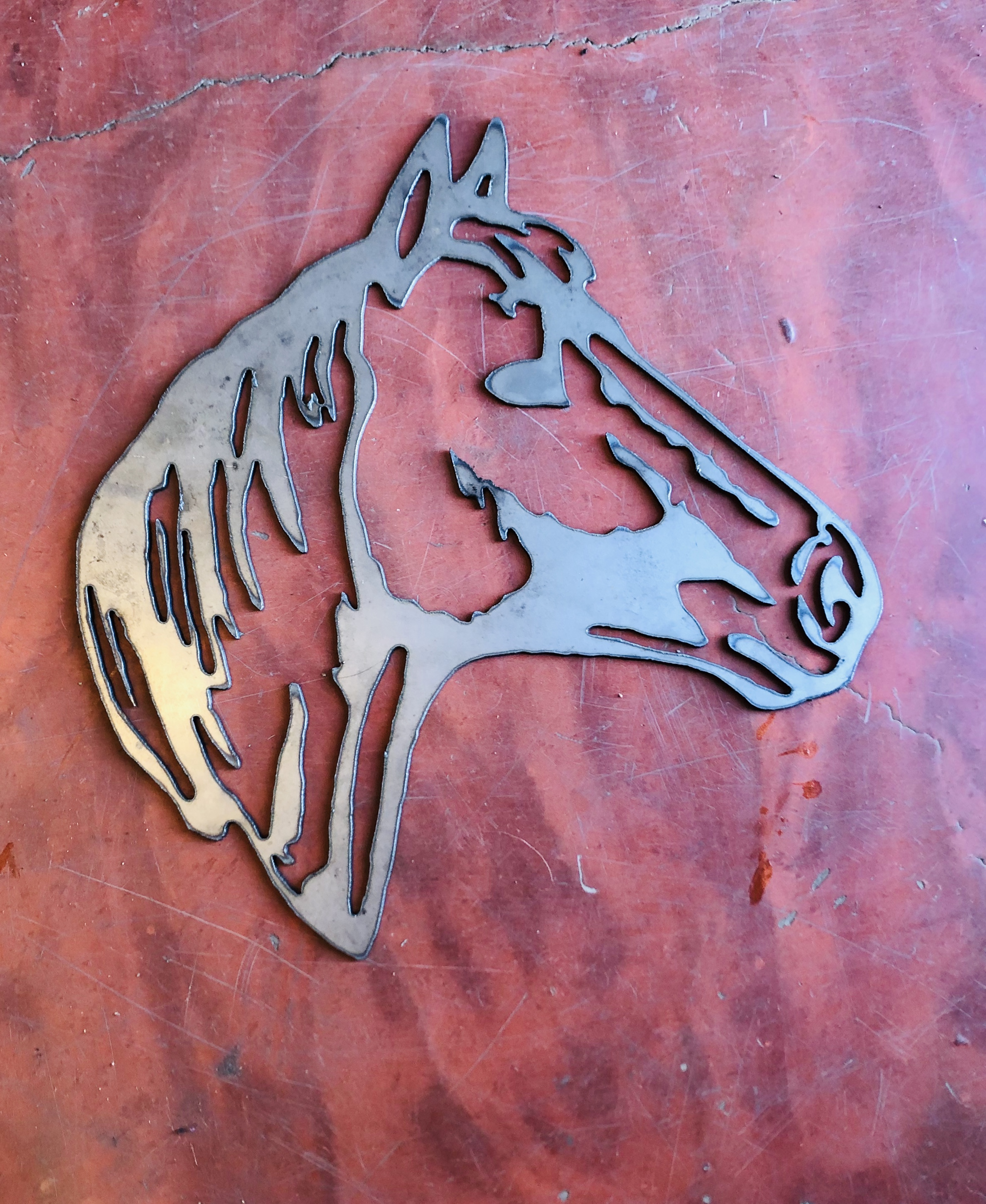 Horse Head Plaque