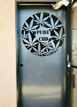 CNC Plasma Screen Door