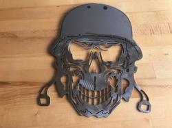 Skull Plaque