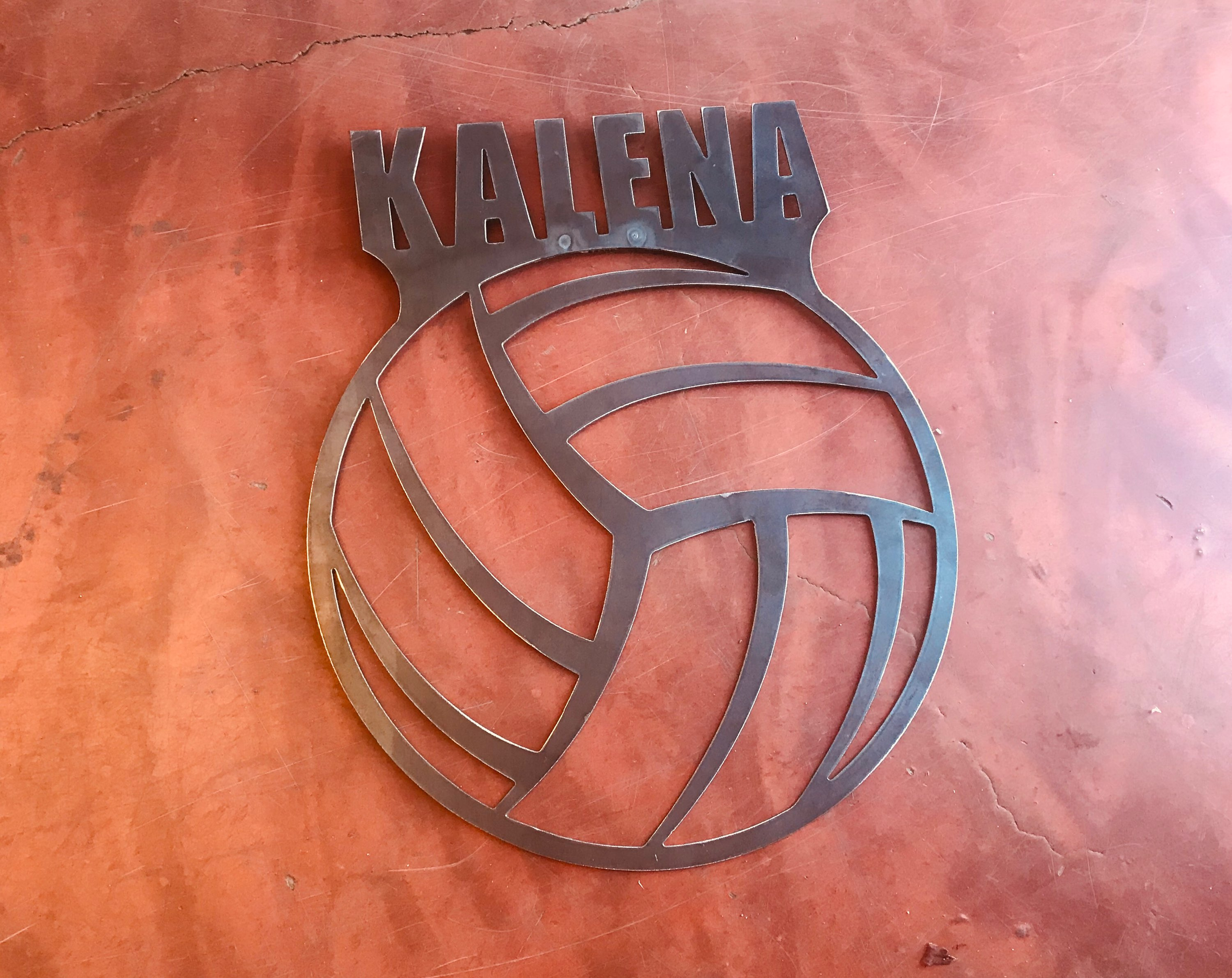 Volleyball Plaque