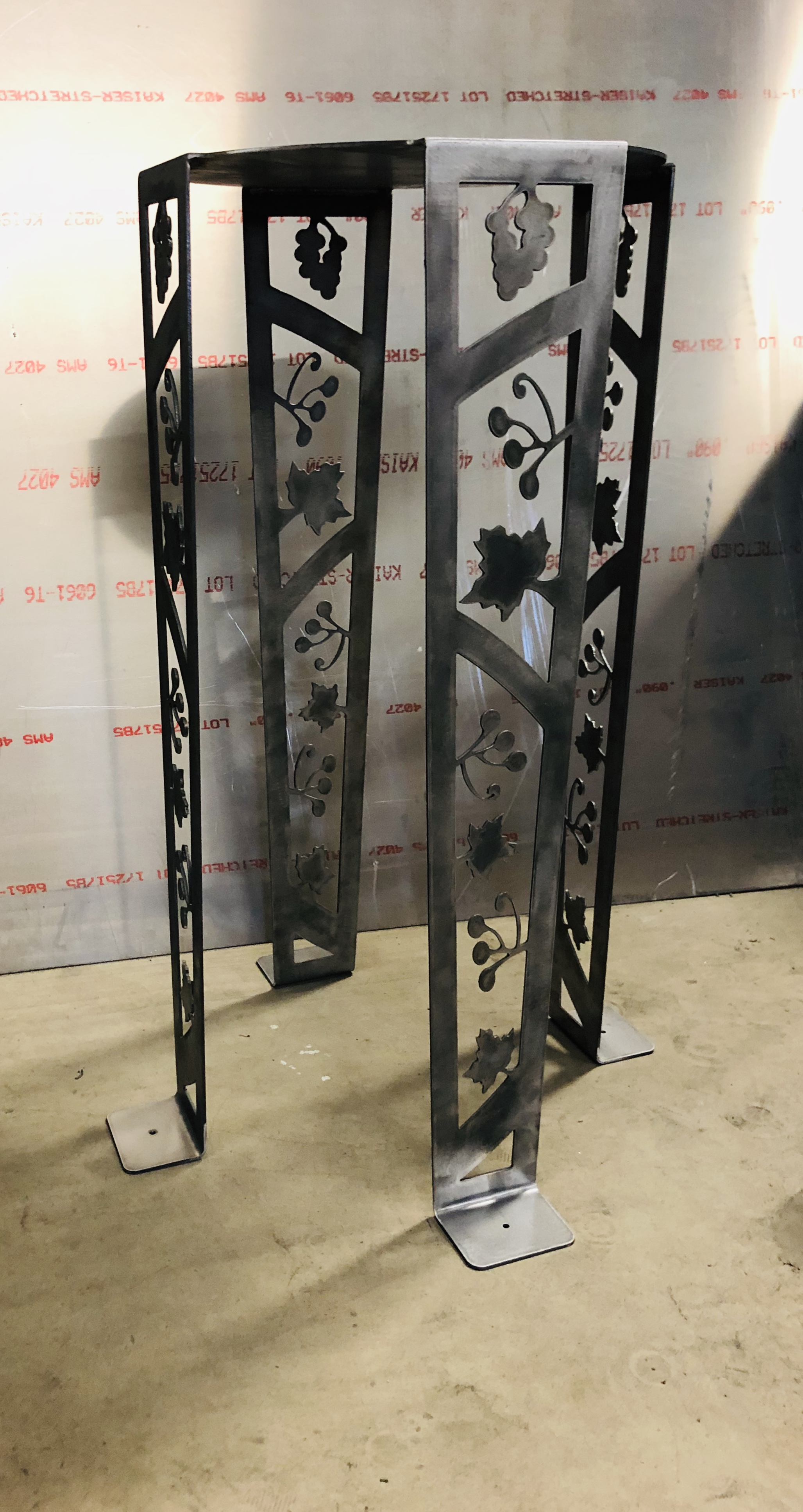 Grape Vine Plant Stand