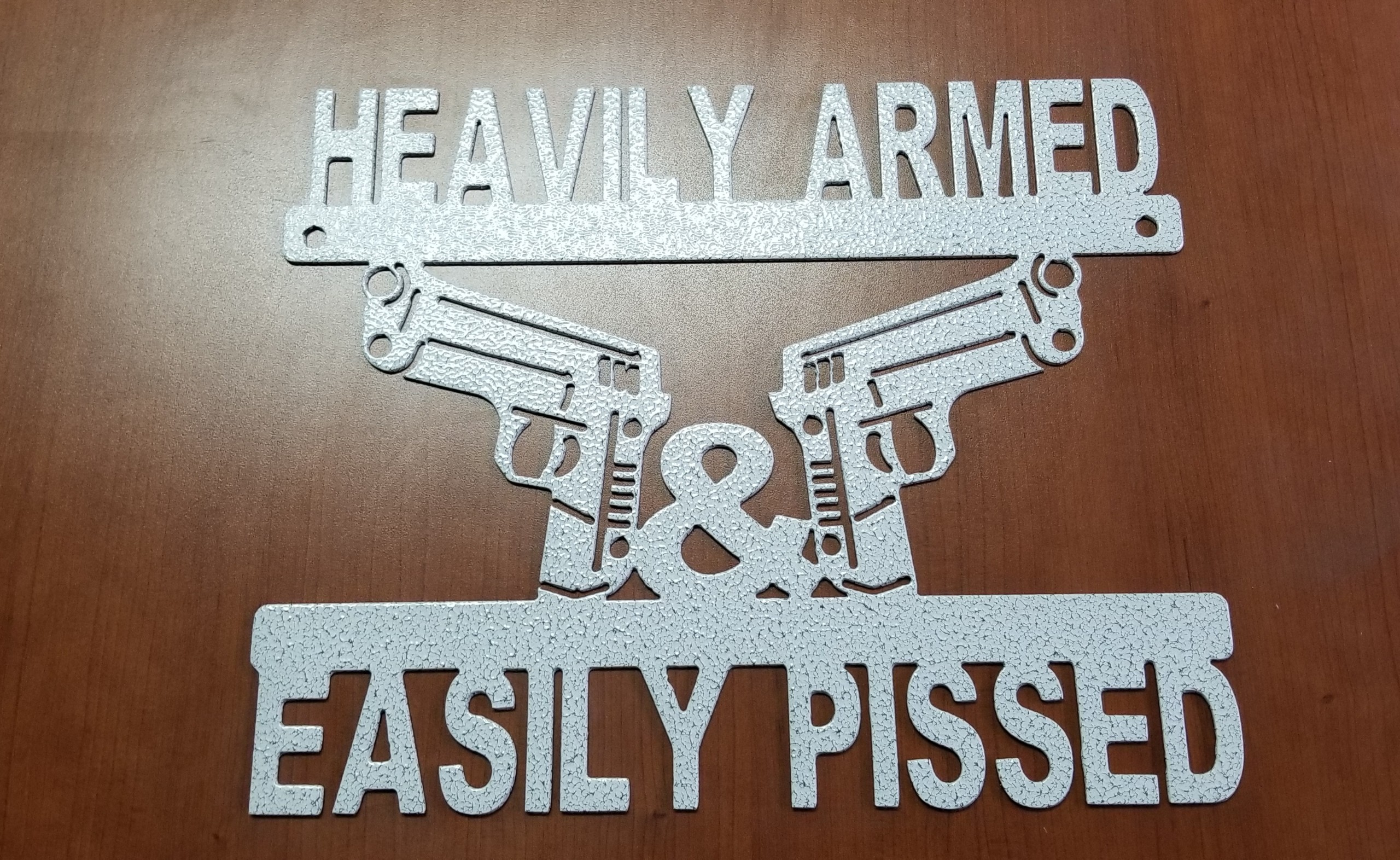 Heavily Armed Easily Pissed
