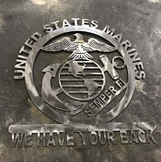 Marine Plaque