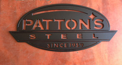 Patton's Steel Logo