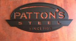 Patton's Steel Logo