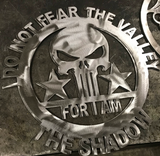 Punisher Plaque