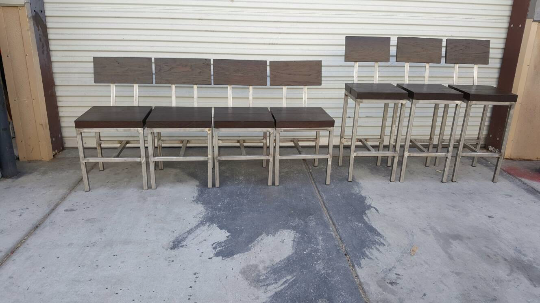Steel & Wood Chairs