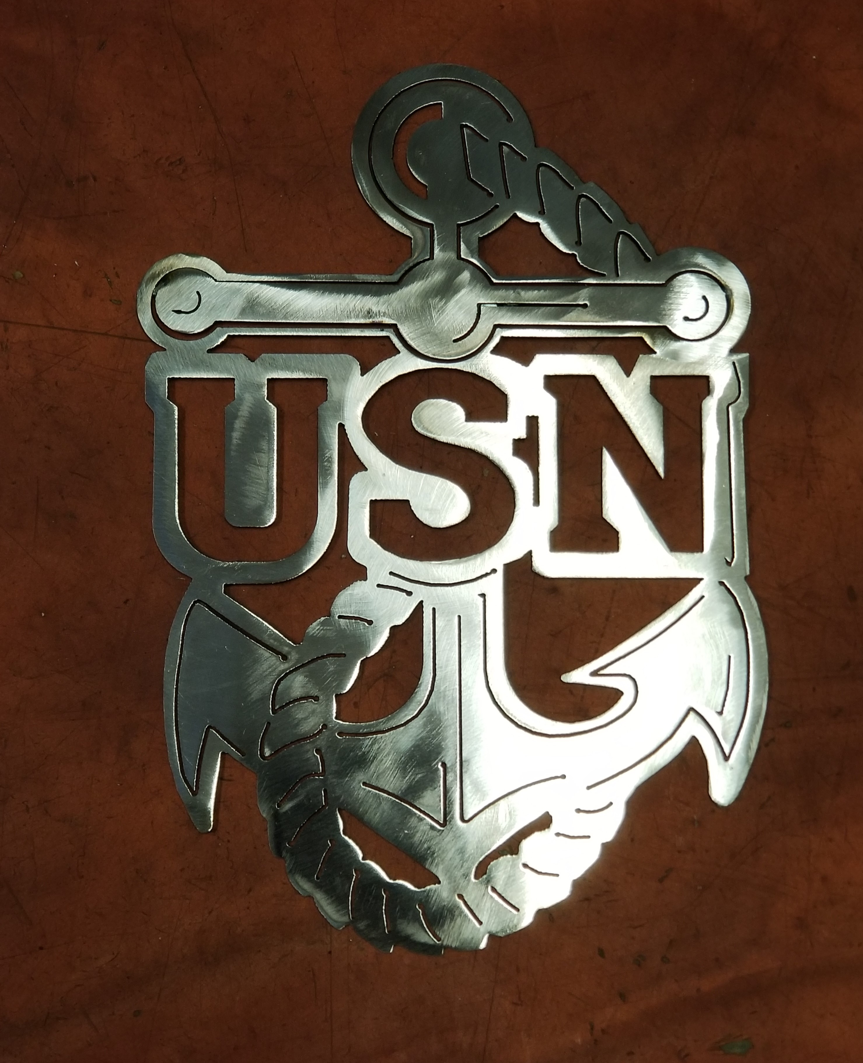 USN Plaque