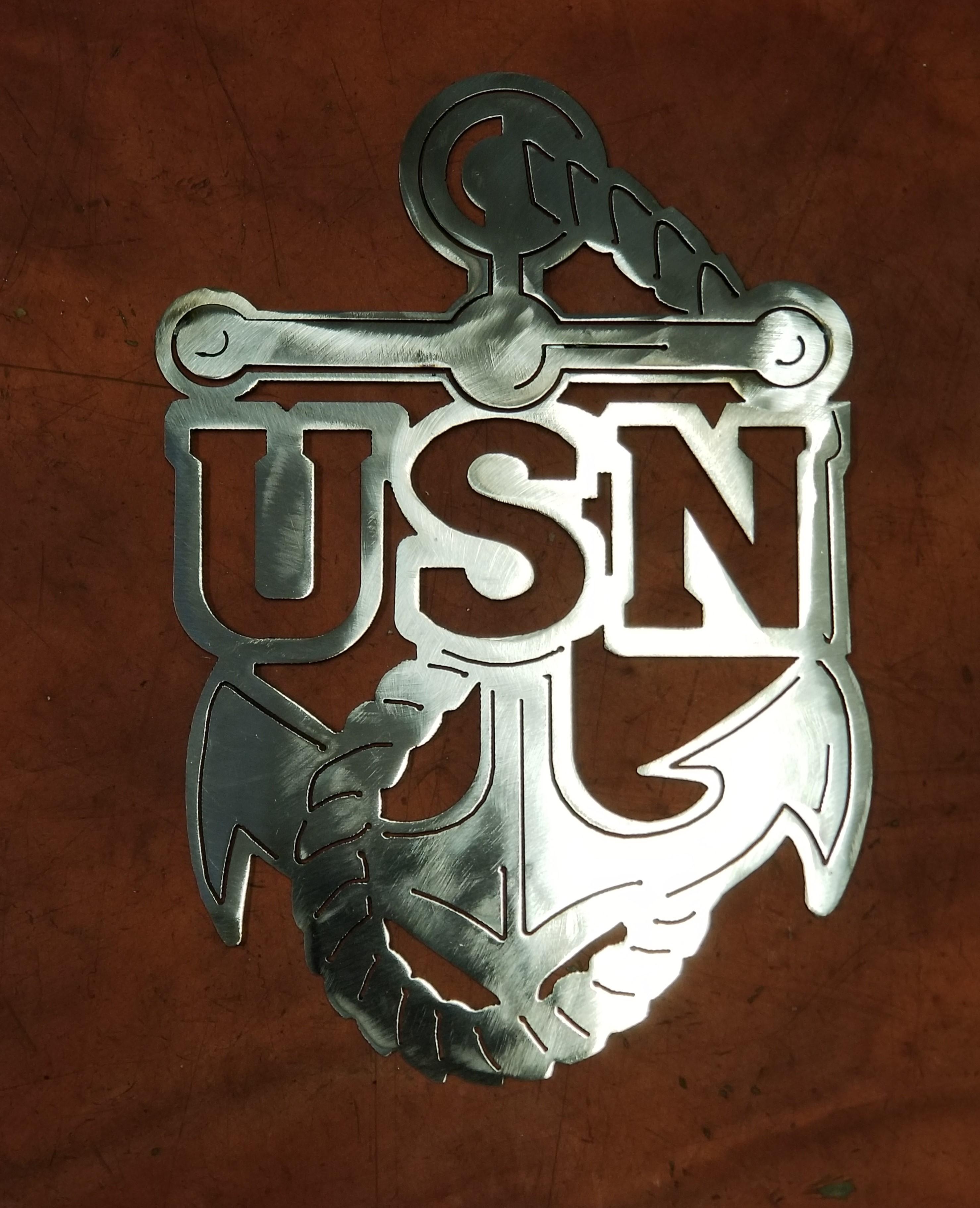 USN Plaque