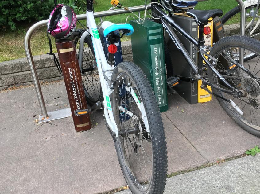 Boyne City bike rack