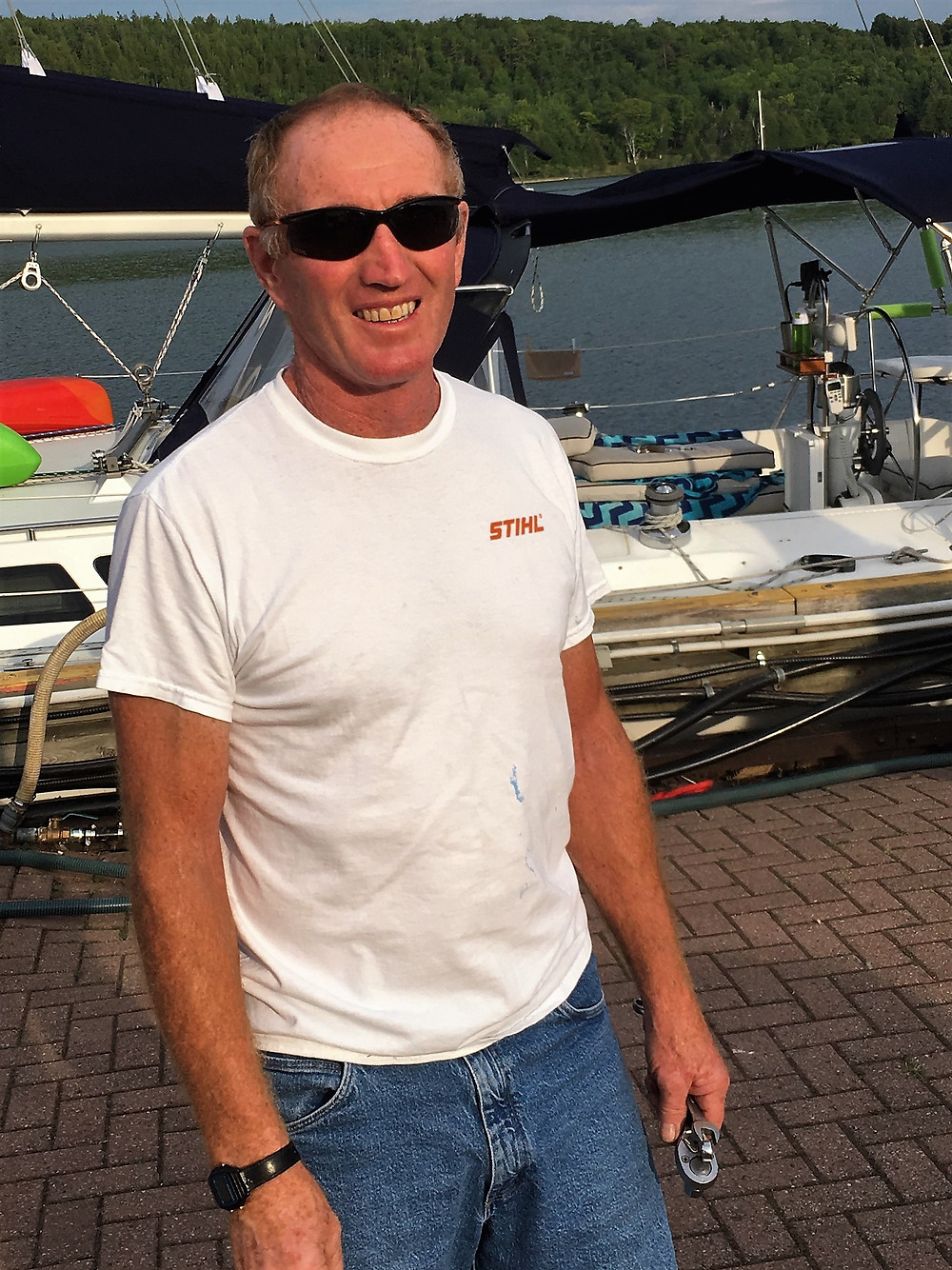 Norm Fogal - Gore Bay marine mechanic.