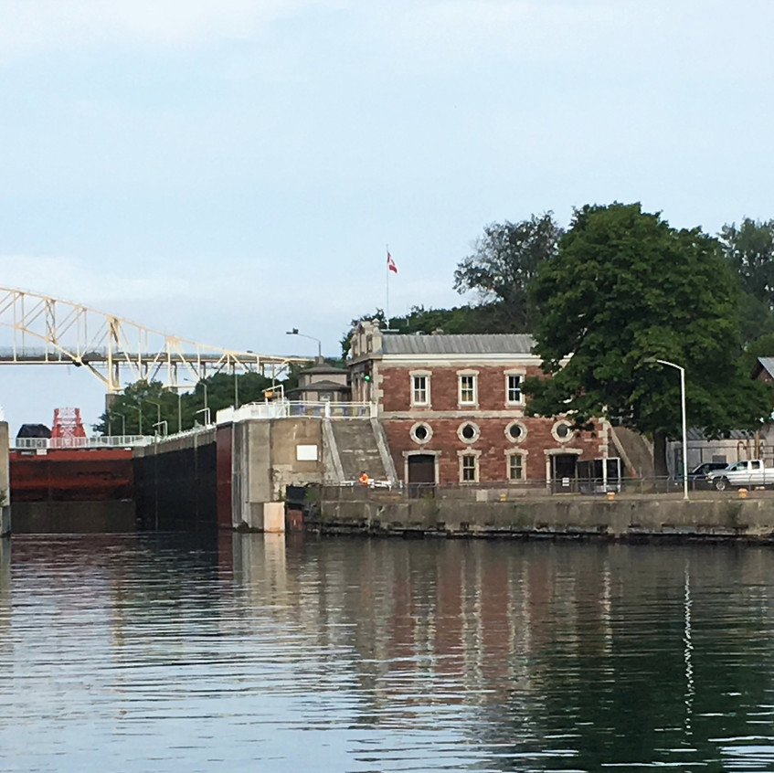 The Canadian lock for recreational boatz