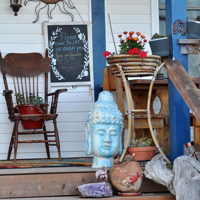 Meldrum Bay front porch