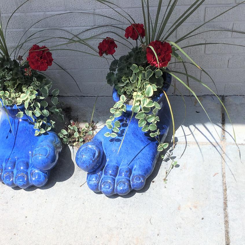 Smurf feet
