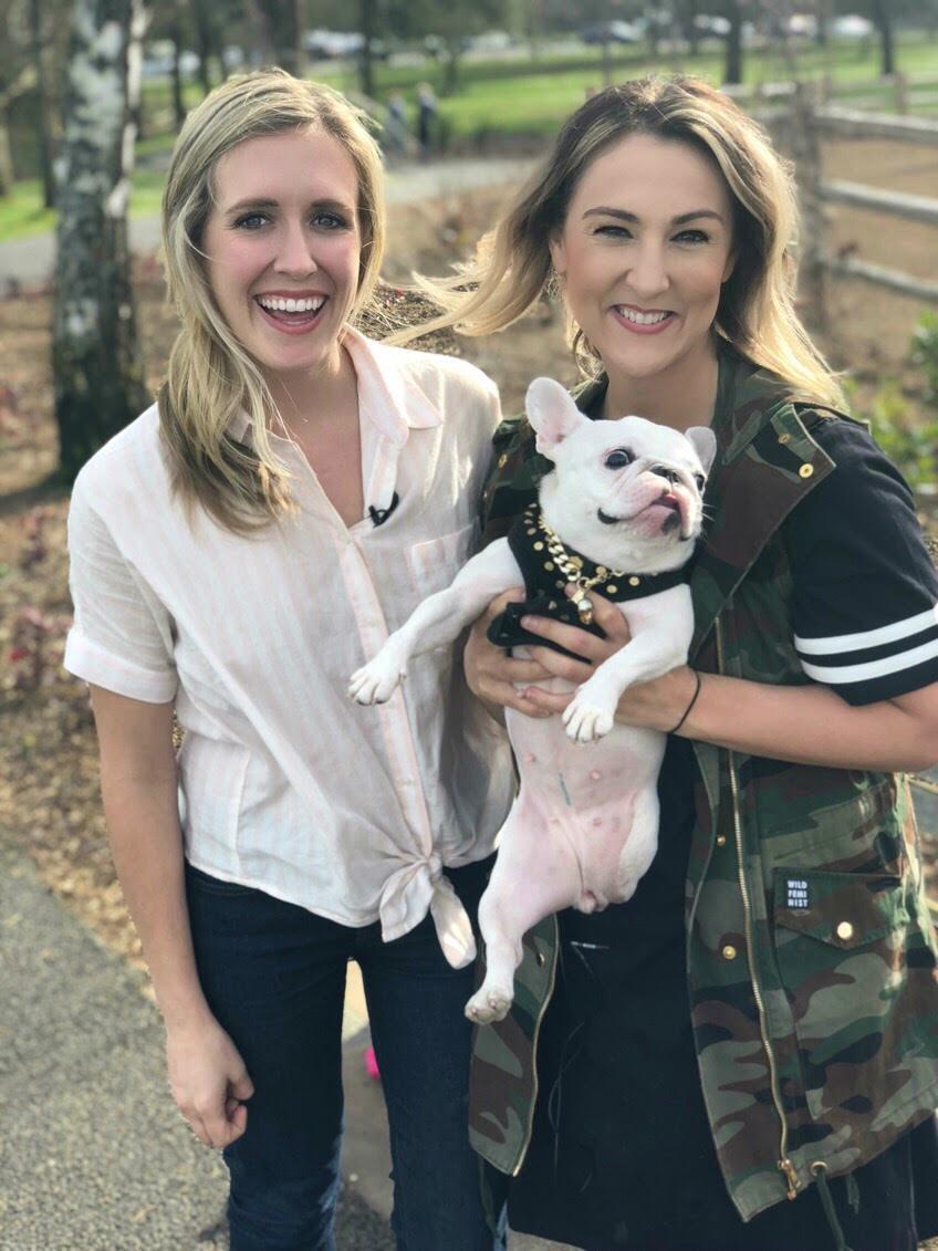 Pardon Thy French - Bethanee Hamilton - French Bulldog - Oregon - Tripod - Lindsay Van Bramer - Molly Riehl