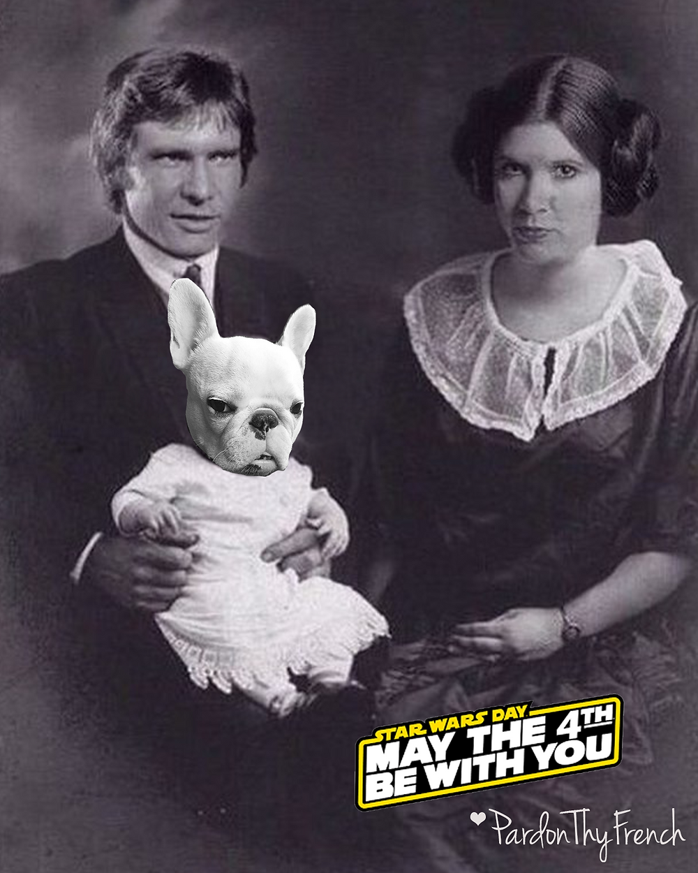 Pardon Thy French - May The 4th Be With You