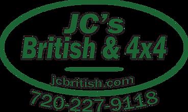JCs British & 4x4 Logo wht bkgrnd w phon