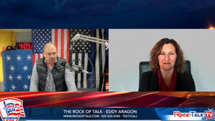 Rock of Talk Radio, KIVA Albuquerque Interviews Ana Garner