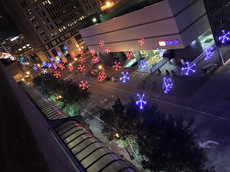 Large-scale Computer-Controlled Christmas Light Display
