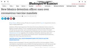 03/02/21 - Washington Examiner