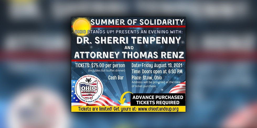 Summer of Solidarity, with Dr. Tenpenny & Tom Renz, in Stow, Ohio