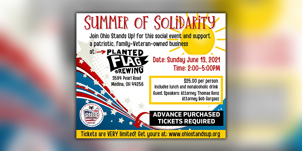 Summer of Solidarity - Planted Flag Brewing (SOLD OUT)