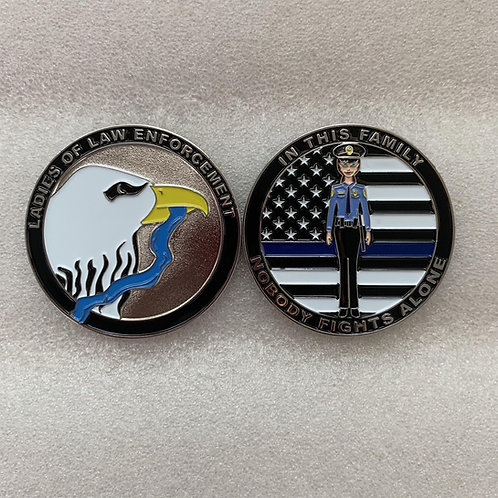 First Ever Ladies of Law Enforcement Challenge Coin