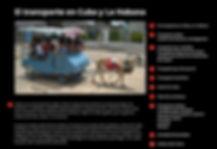 El transporte en La Habana
