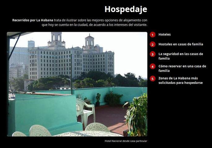 Hospedaje alojamiento hoteles casas particulares