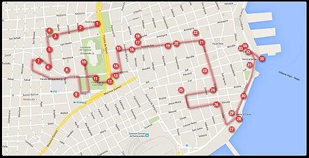 RECORRIDO 3 Centro Habana y sur de La Habana Vieja