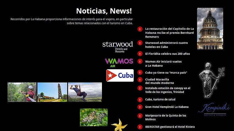 Noticias News en La Habana