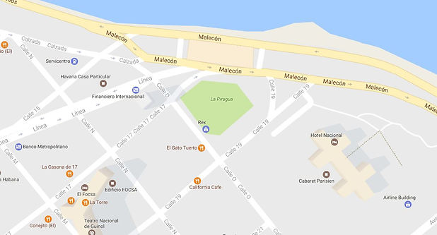 Localizacion de La Piragua
