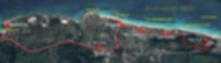HabanaBusTour T3 MAPA Playas